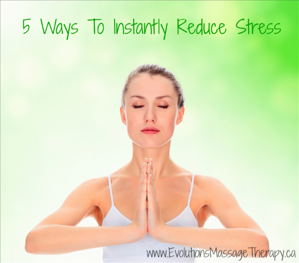 Ways to Reduce Stress | Massage Therapy | Brentwood Bay BC