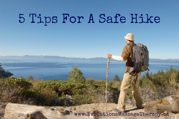 5 Tips For a Safe Hike